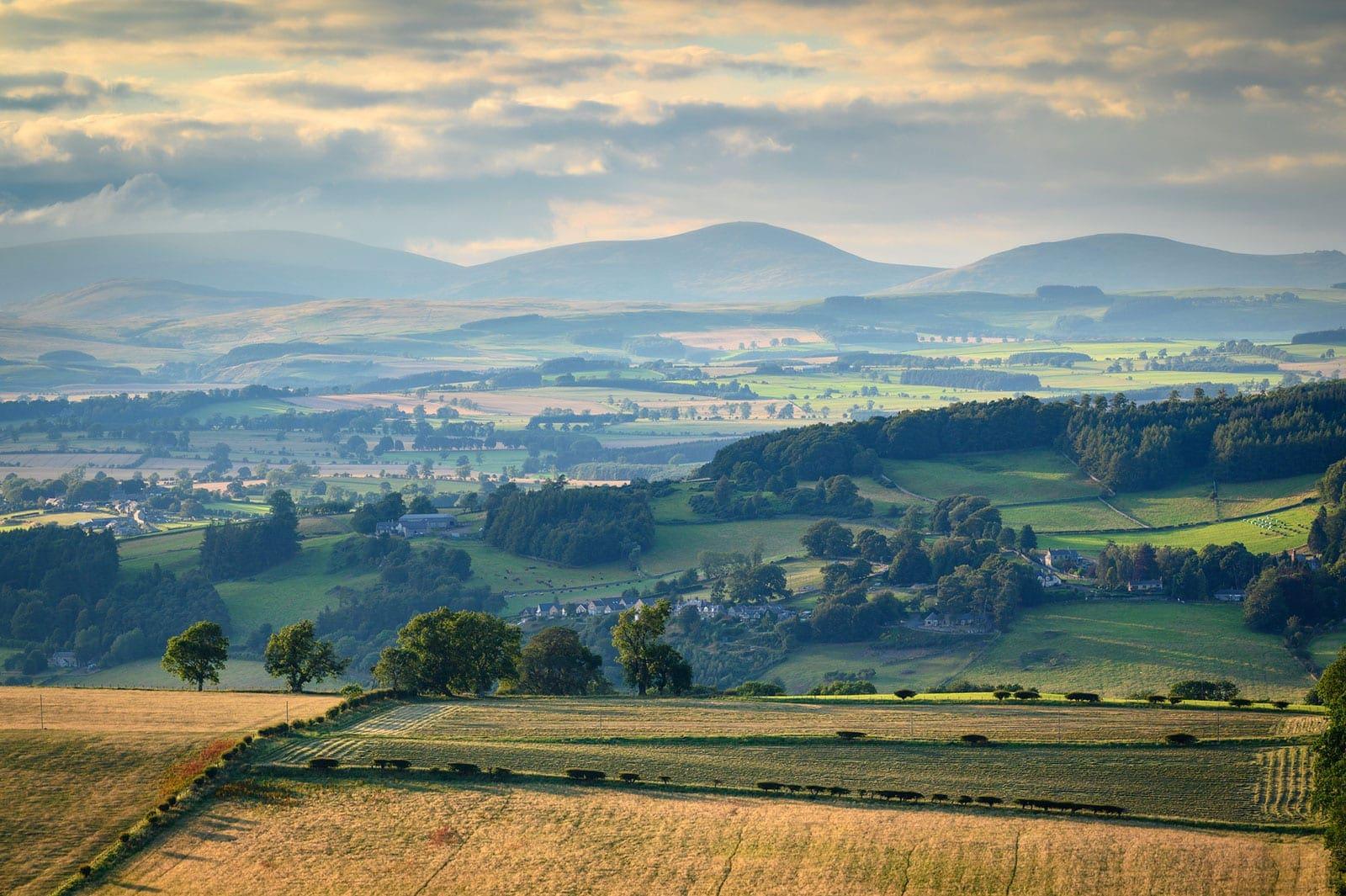 Shaping hte landscape Northumberland