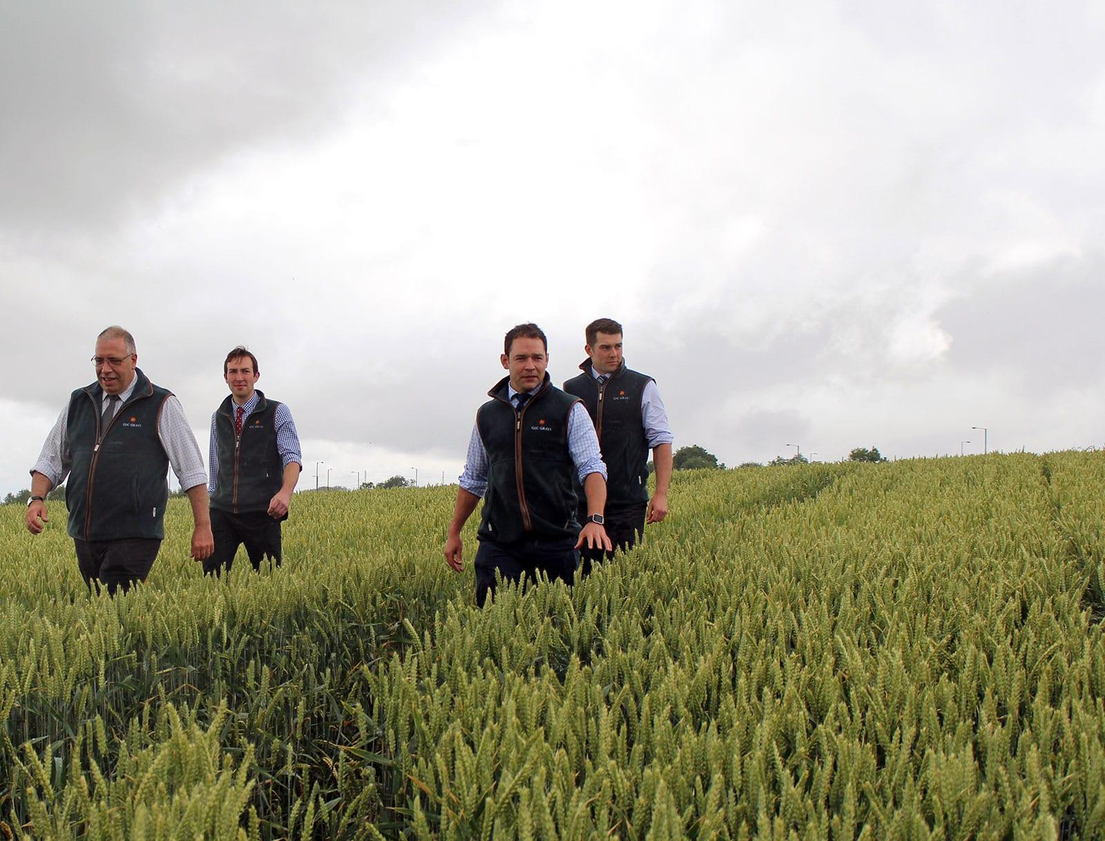 Agronomy team